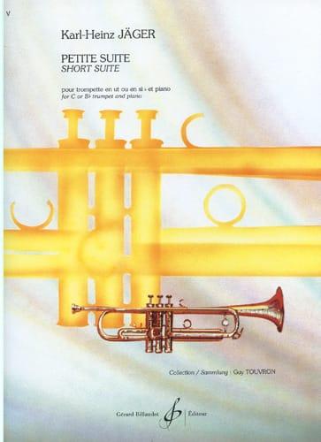 Petite Suite - Karl-Heinz Jäger - Partition - laflutedepan.com