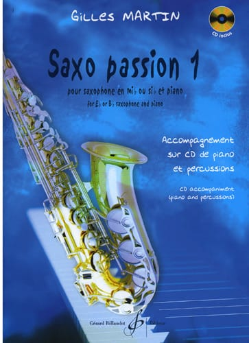 Gilles Martin - Saxo Passion 1 - Partition - di-arezzo.com
