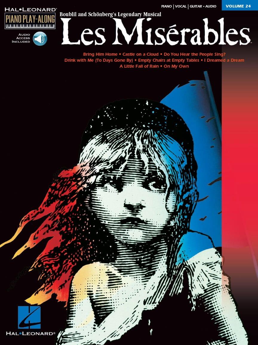 Claude Michel Schönberg - Piano Play-Along Volume 24 - The Miserables - Partition - di-arezzo.co.uk