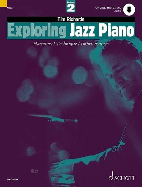 Tim Richards - Exploring Jazz Piano Volume 2 - Partition - di-arezzo.com