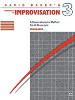 Technique Of Improvisation Volume 3 - Turnbacks - laflutedepan.com