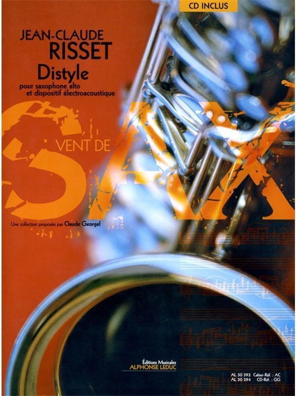 Distyle - Jean-Claude Risset - Partition - laflutedepan.com