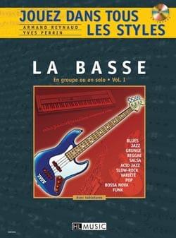 Jouez dans Tous les Styles Volume 1 - Guitare basse - laflutedepan.com