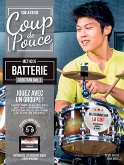 COUP DE POUCE - Méthode Batterie Débutant Volume 3 - Partition - di-arezzo.fr