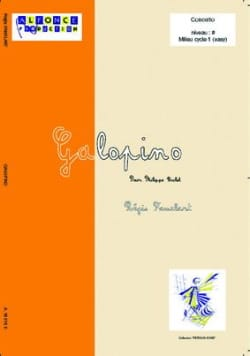 Régis Famelart - Galopino - Partition - di-arezzo.co.uk