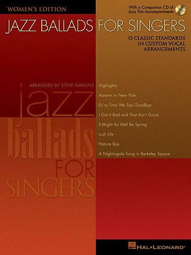 Jazz Ballads For Singers - Women - Partition - laflutedepan.com