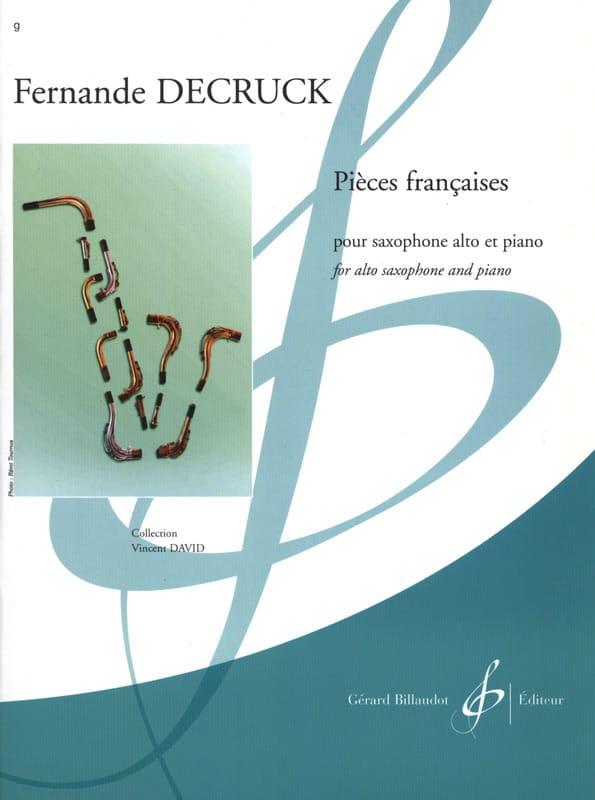 Fernande Decruck - Pieces Françaises - Partition - di-arezzo.fr