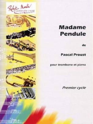 Madame Pendule - Pascal Proust - Partition - laflutedepan.com
