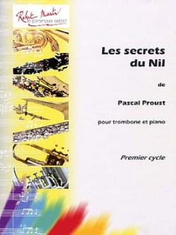 Pascal Proust - The secrets of the Nile - Partition - di-arezzo.co.uk
