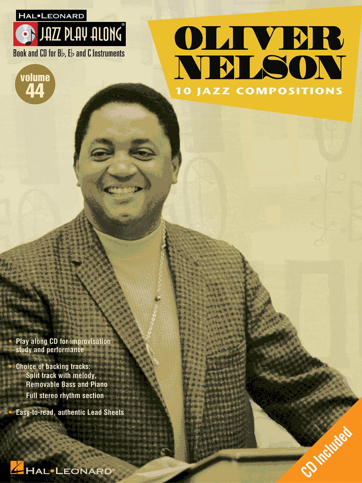 Jazz play-along volume 44 - Oliver Nelson - laflutedepan.com