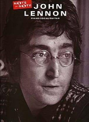 Note For Note - John Lennon - Partition - laflutedepan.com