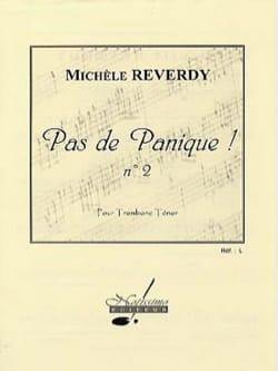 Pas de Panique ! N° 2 - Michèle Reverdy - Partition - laflutedepan.com
