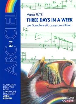 Three Days In A Week - Marco Pütz - Partition - laflutedepan.com
