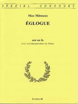 Eglogue - Max Méreaux - Partition - Cor - laflutedepan.com