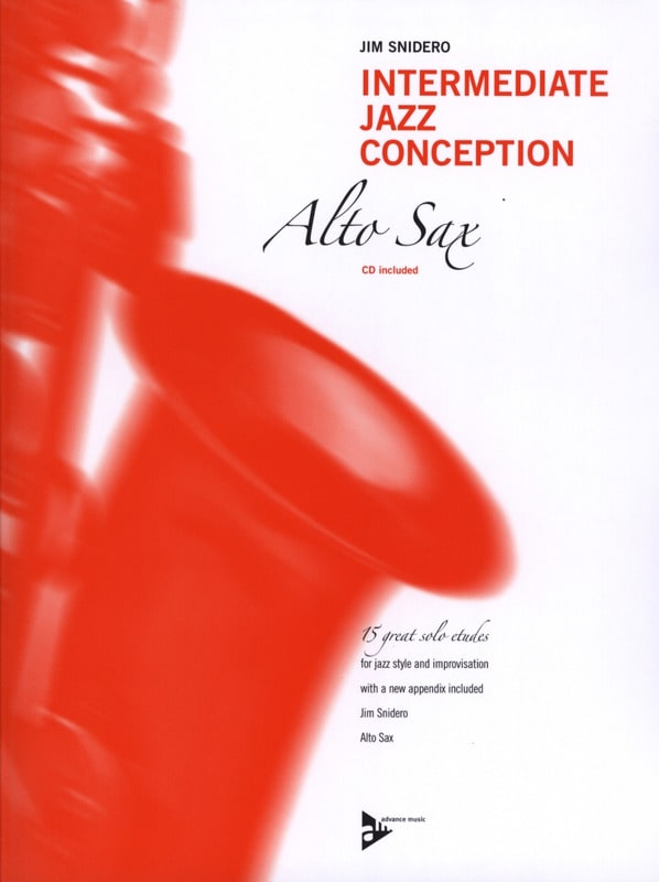 Intermediate jazz conception - 15 great solo etudes - laflutedepan.com
