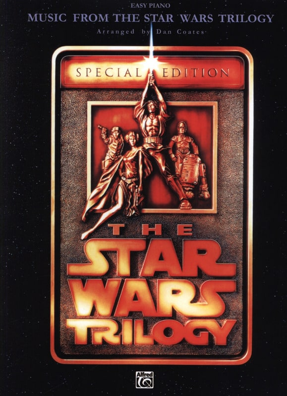 John Williams - The Trilogy Star Wars - Easy Piano - Partition - di-arezzo.com