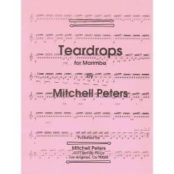 Teardrops For Marimba - Mitchell Peters - Partition - laflutedepan.com