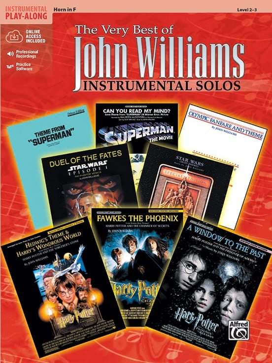 The very best of John Williams - Instrumental solos - laflutedepan.com
