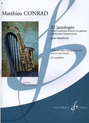 32 Jazzologies - Matthieu Conrad - Partition - laflutedepan.com