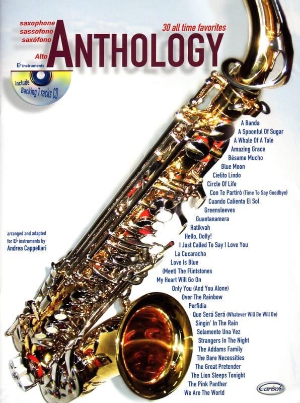 Anthology Volume 1 - Partition - Saxophone - laflutedepan.com