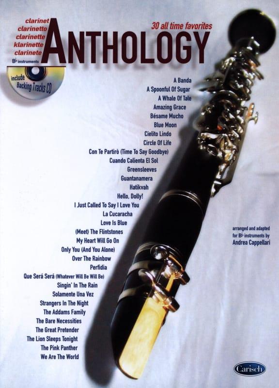 Anthology Volume 1 - Partition - Clarinette - laflutedepan.com