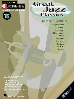 Jazz play-along volume 50 - Great Jazz Classics - laflutedepan.com