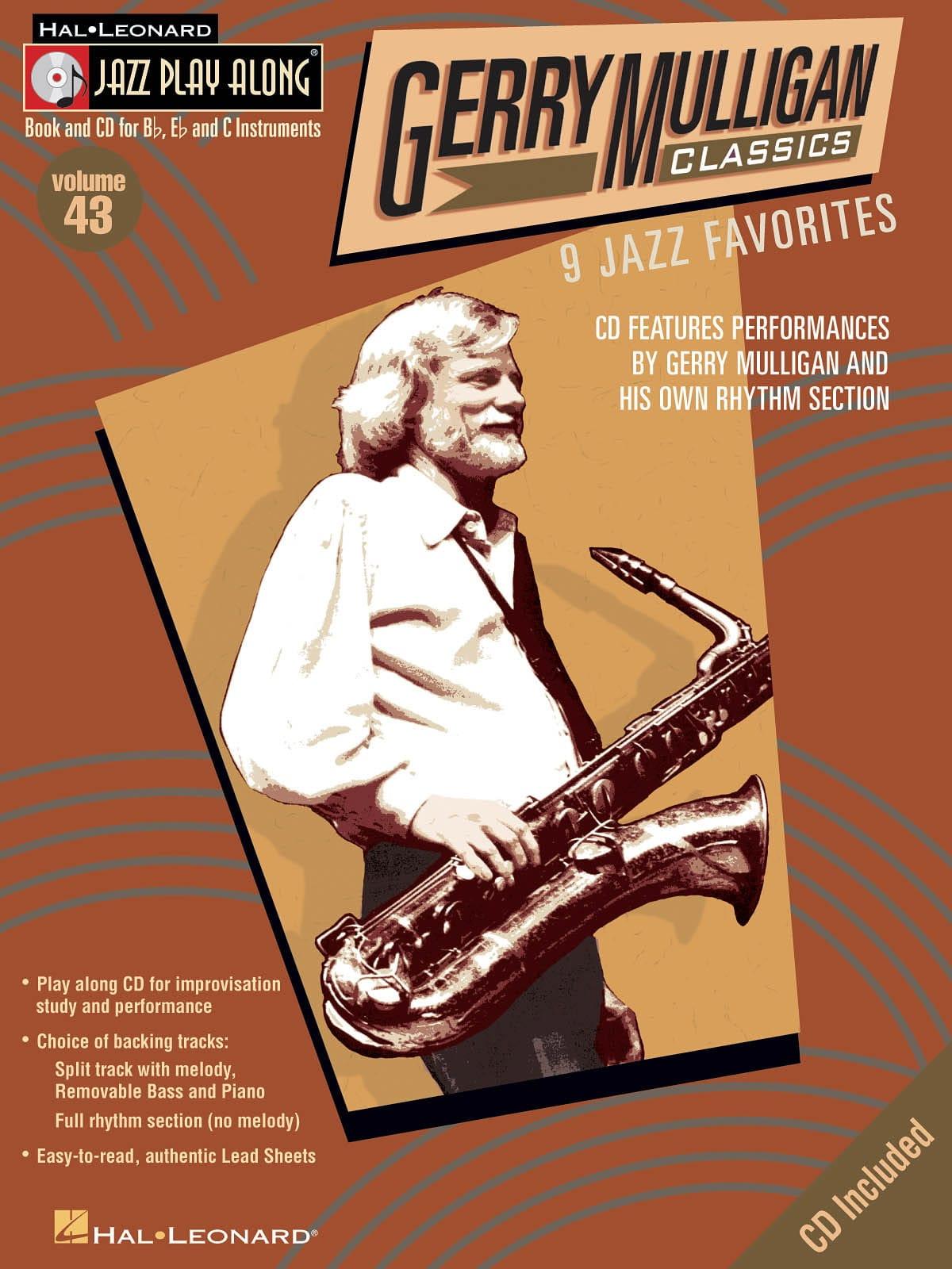 Jazz play-along volume 43 - Gerry Mulligan Classics - laflutedepan.com