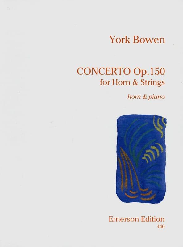 Concerto Opus 150 - York Bowen - Partition - Cor - laflutedepan.com
