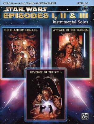 John Williams - Star Wars episodes 1, 2 - 3 - instrumental solos - Partition - di-arezzo.co.uk