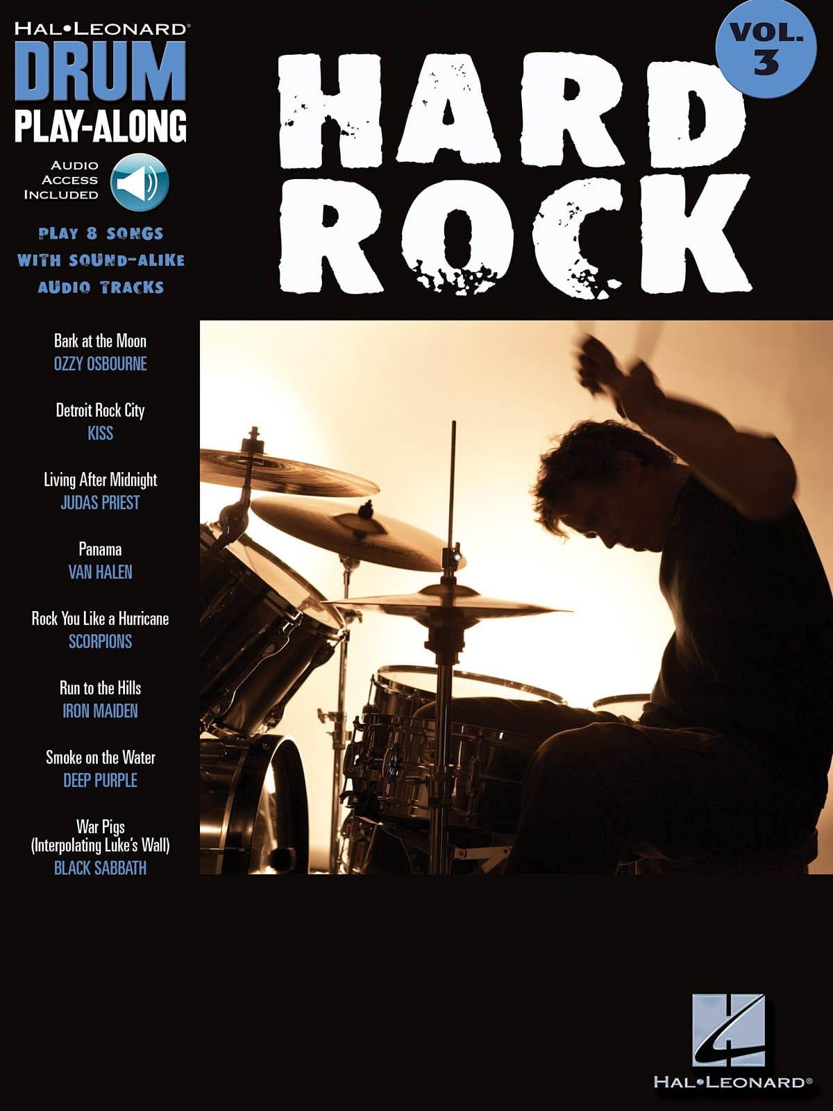 Drum play-along volume 3 - Hard Rock - laflutedepan.com
