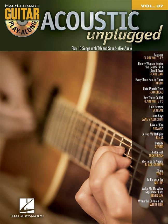 Guitar Play-Along Volume 37 - Acoustic Metal - laflutedepan.com
