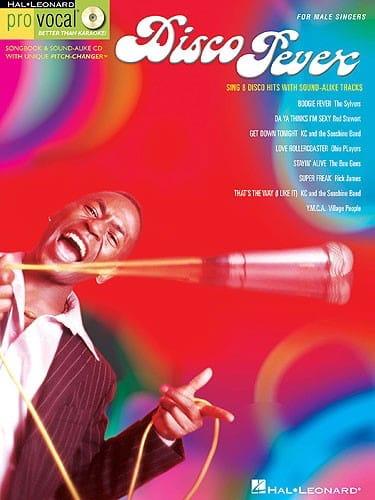 - Pro Vocal Men's Edition - Disco Fever - Partition - di-arezzo.co.uk