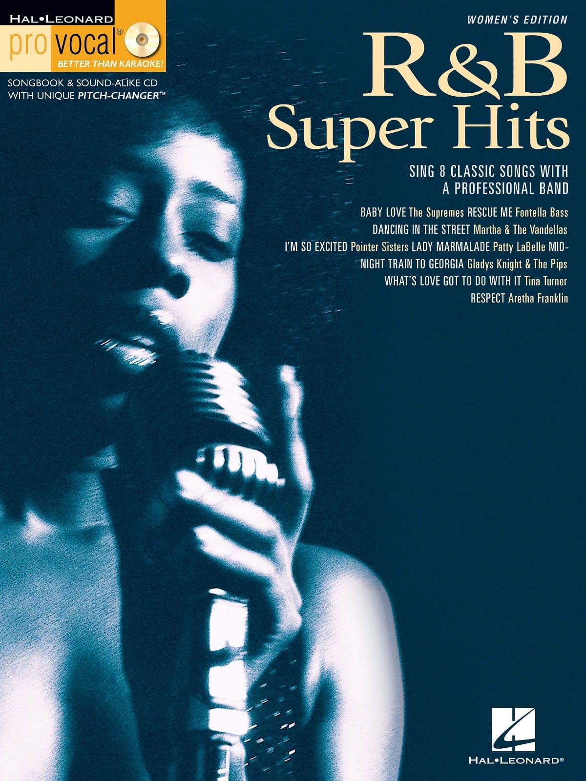 Pro Vocal Women's Edition Volume 7 - R&B Super Hits - laflutedepan.com