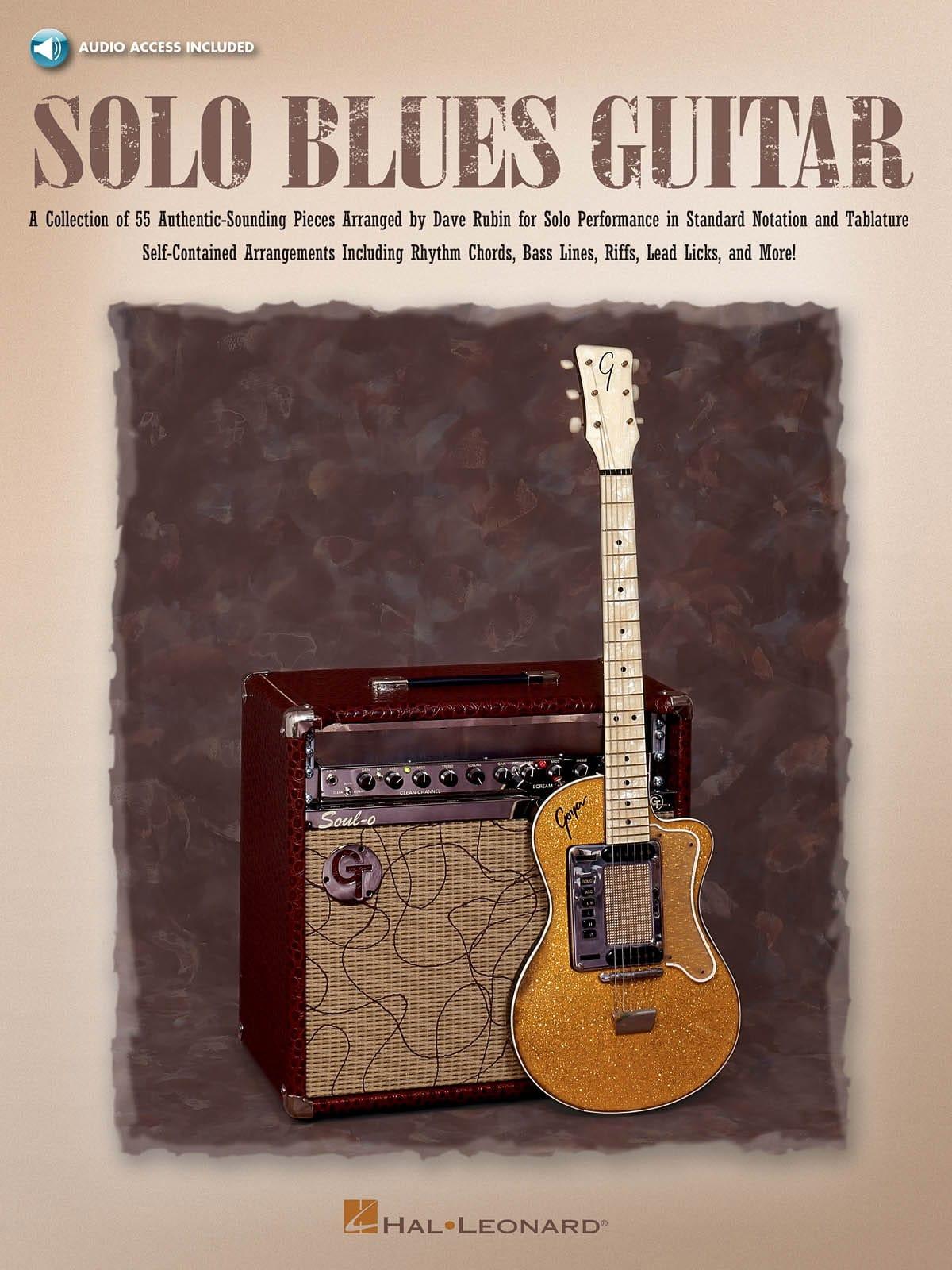 Dave Rubin - Solo Blues Guitar - Partition - di-arezzo.co.uk