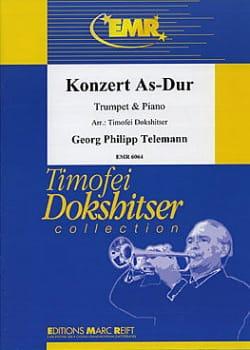 TELEMANN - Konzert As-Dur - Partition - di-arezzo.co.uk