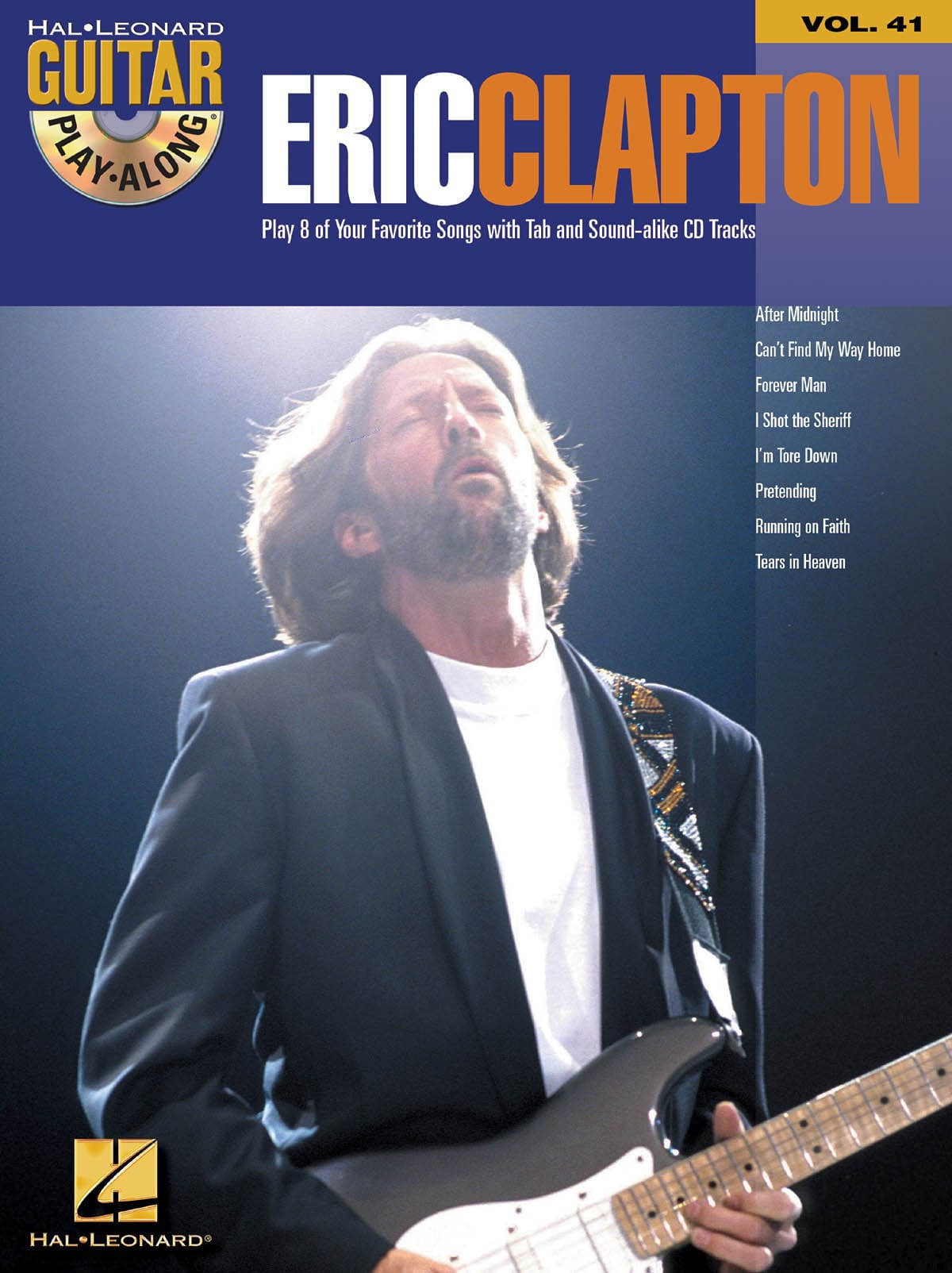 Eric Clapton - Guitar Play Play Along 41 - Eric Clapton - Partition - di-arezzo.es