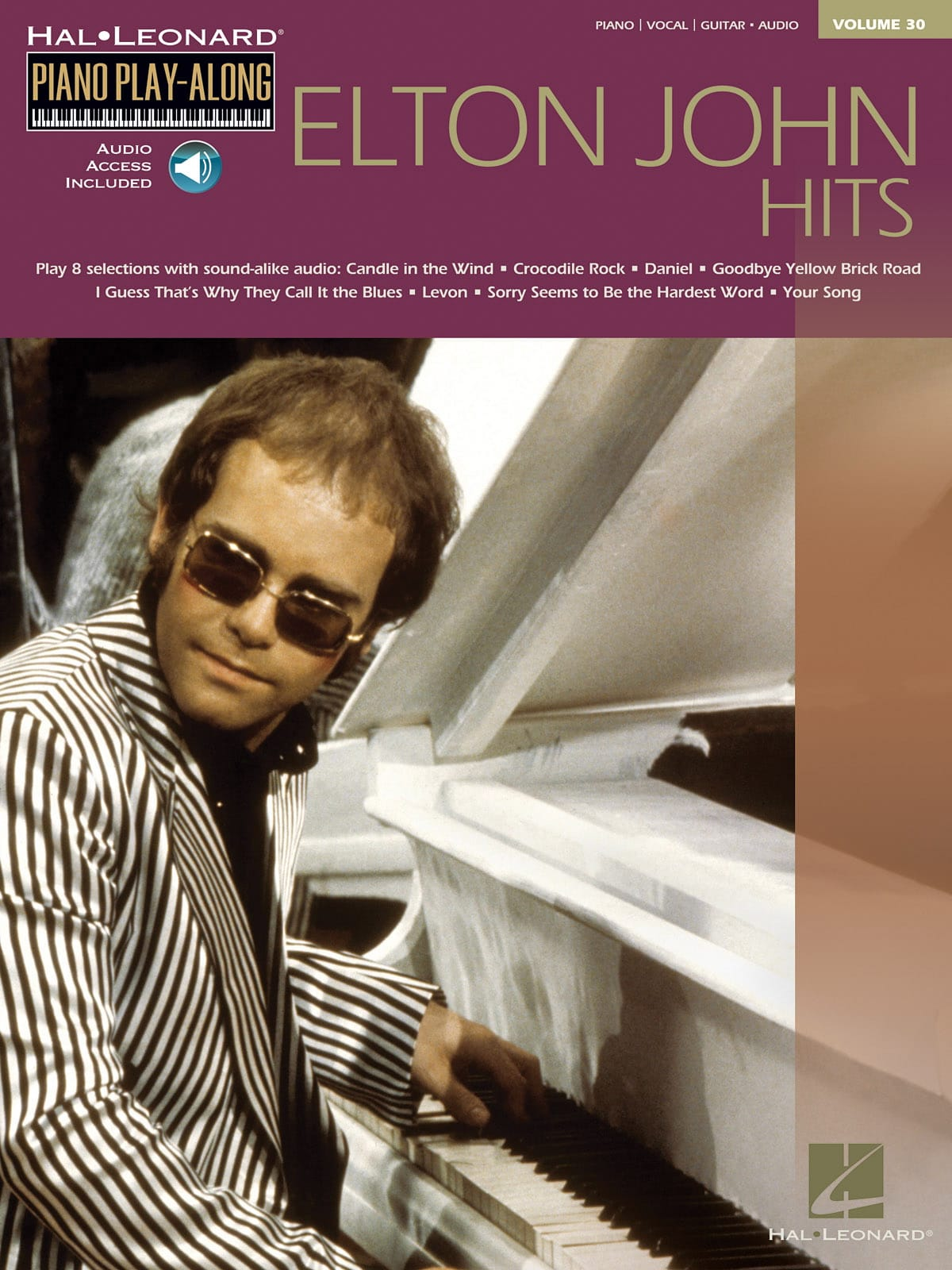Elton John - Play-Along Piano Volume 30 - Elton John Hits - Partition - di-arezzo.it