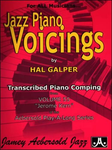 Jazz Piano Voicing Volume 55 - Jerome Kern - laflutedepan.com