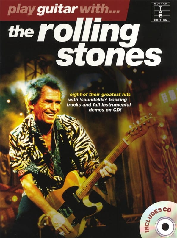 ROLLING STONES - Play Guitar With ... The Rolling Stones - Partition - di-arezzo.co.uk