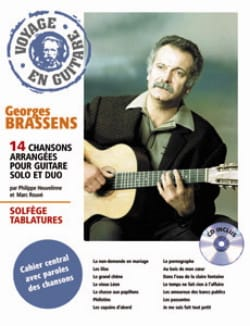 Georges Brassens - Traveling in Guitar - Partition - di-arezzo.co.uk
