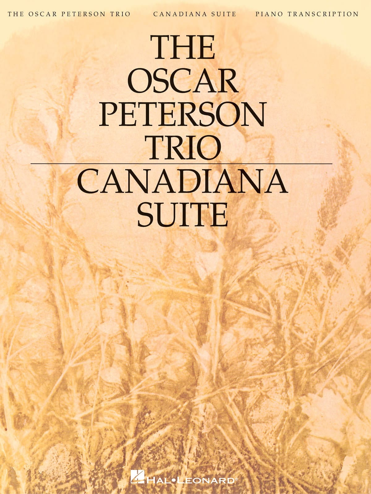 Oscar Peterson - Suite Canadiana - Partition - di-arezzo.es