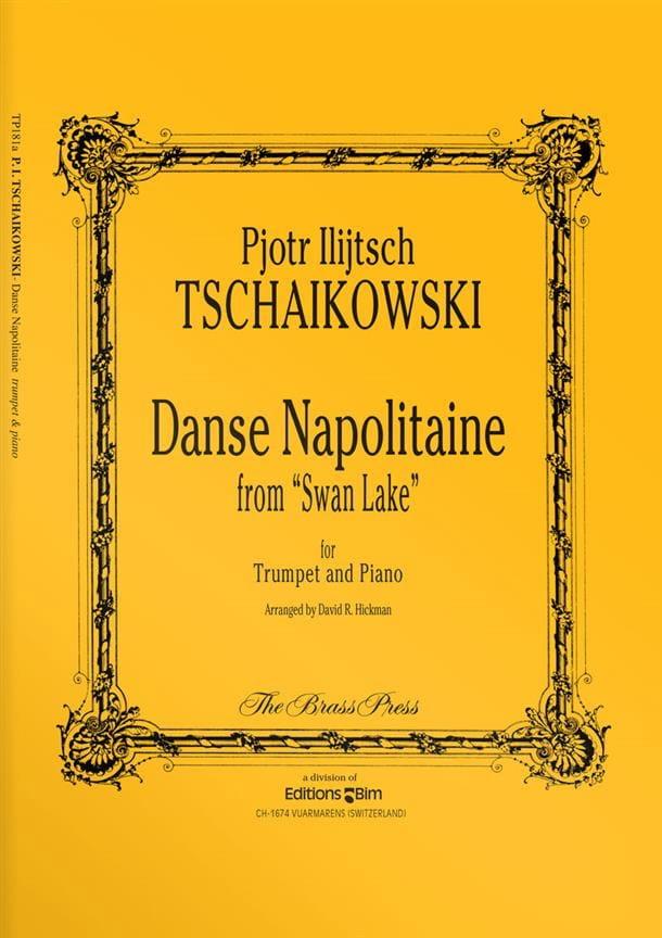 Danse Napolitaine From Swan Lake - TCHAIKOVSKY - laflutedepan.com