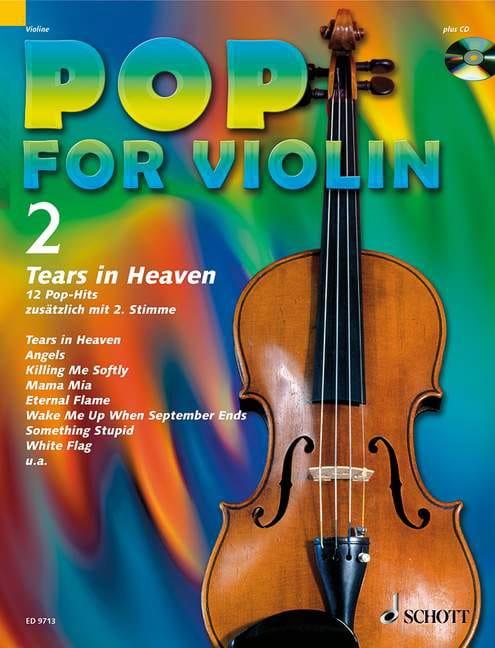 Pop for Violin Volume 2 - Tears In Heaven - laflutedepan.com