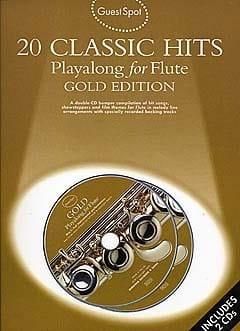 Guest Spot - 20 Classic Hits Playalong For Flute - laflutedepan.com