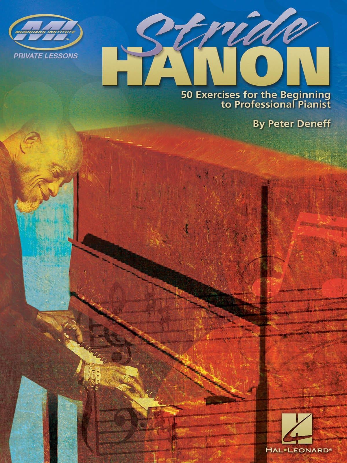 Stride Hanon - Peter Deneff - Partition - Jazz - laflutedepan.com