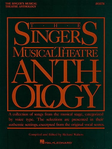 - The Singer's Musical Theater Anthology - Duets - Partition - di-arezzo.co.uk