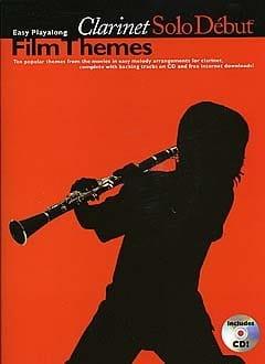 Clarinet Solo Début Film Themes - Partition - laflutedepan.com