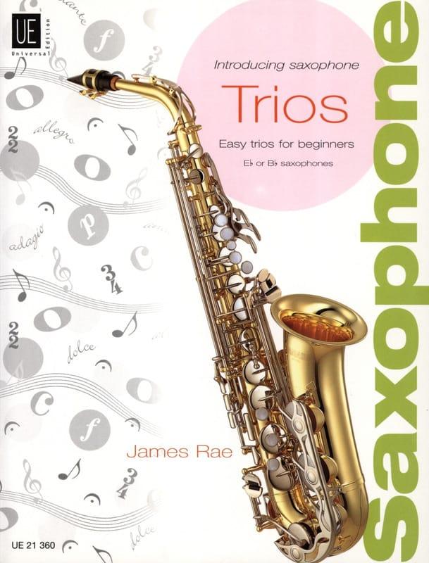 Introducing Saxophone Trios - James Rae - Partition - laflutedepan.com