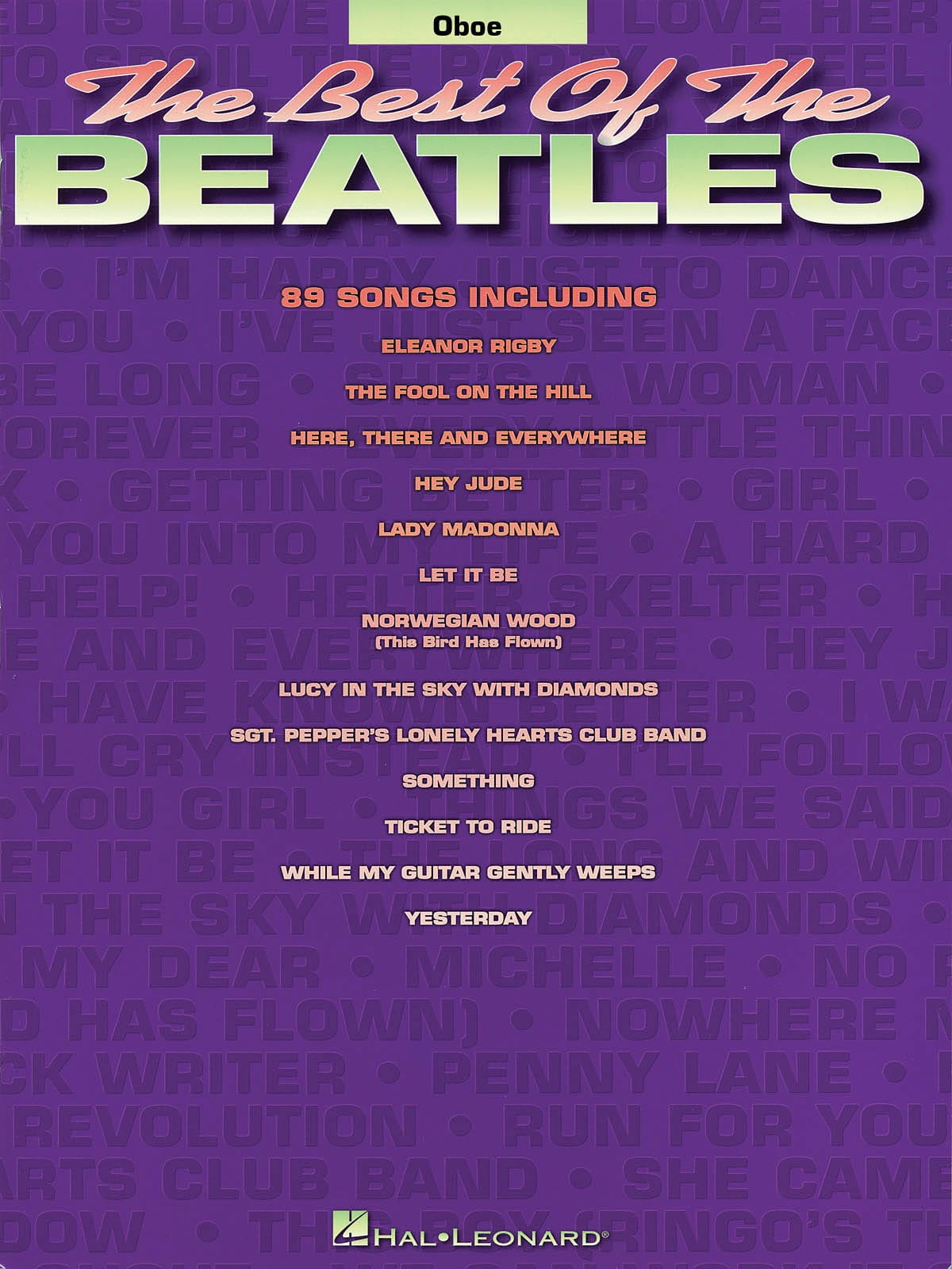 BEATLES - The Best Of The Beatles For Oboe - Partition - di-arezzo.com