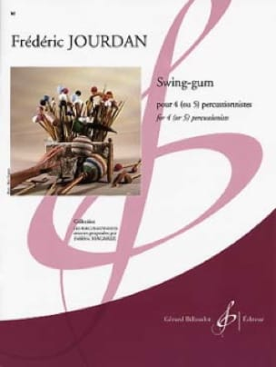 Swing-Gum - Frédéric Jourdan - Partition - laflutedepan.com